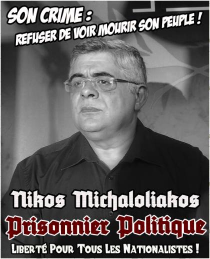 Libération de Nikos Michaloliakos après 18 mois de détention illégale