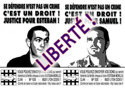 Communiqué du CLAN : Se défendre n'est pas un crime !
