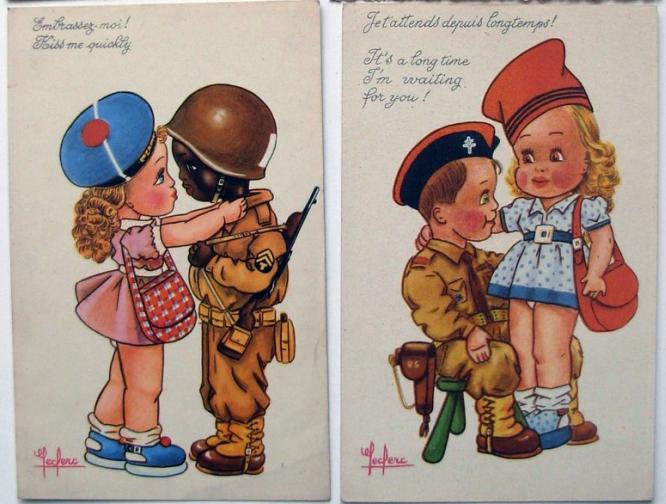 En France aussi, les Françaises étaient présentées par la propagande de guerre comme une récompense. Des dizaines de milliers de Blanches furent violées lors de l'invasion par l'armée américaine.