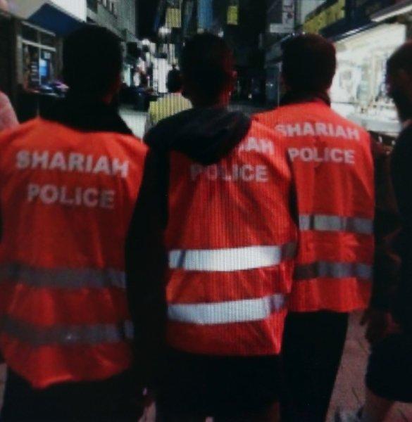 «Scharia-Polizei» in  Wuppertal.