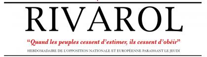 Entretien avec Yvan Benedetti, dans journal Rivarol n° 3216