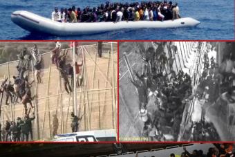 Chances pour l'Europe: des «migrants» islamistes ont jeté en pleine mer des «migrants» chrétiens