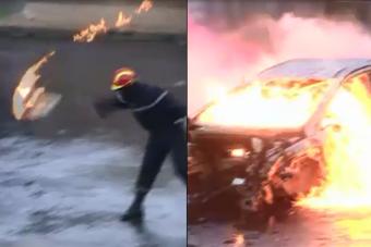 Guet-apens contre des pompiers et des policiers à Brest : où est le «ferme» Valls pour dénoncer les 12 cocktails molotov?