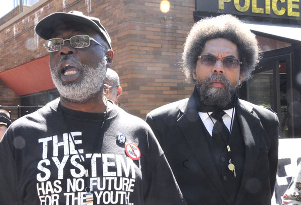 Carl Dix ici avec Cornel West.