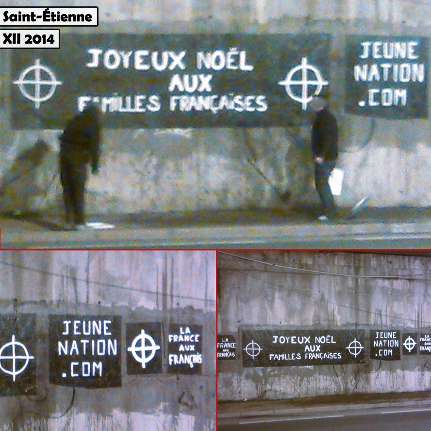 Saint-Étienne nationaliste - Noël