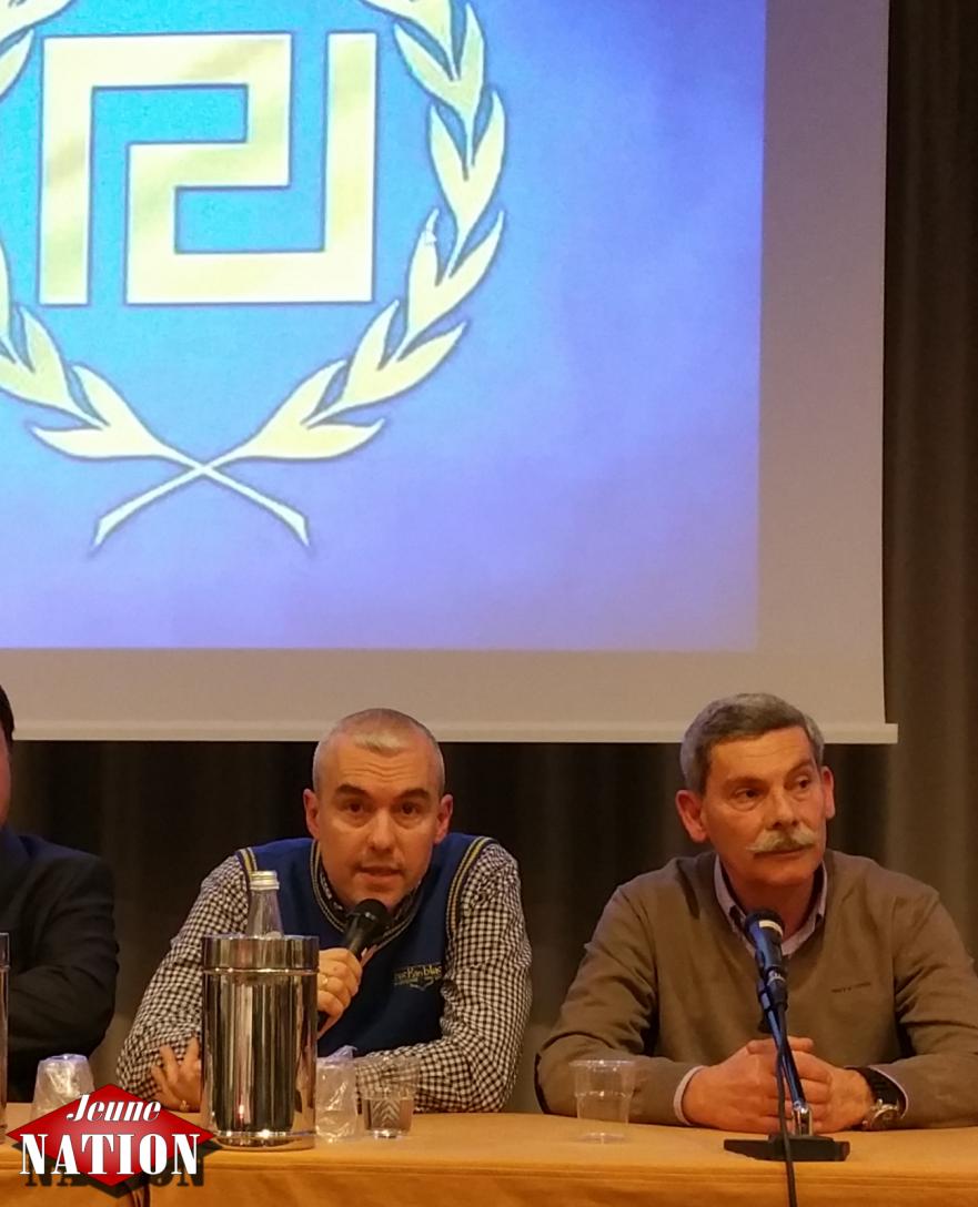 Le député européen grec Eleftherios Synadinos