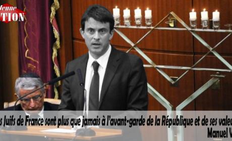 Plutôt que combattre l'invasion, le chômage et l'insécurité (liés), Valls s'attaque à «l'extrême droite»