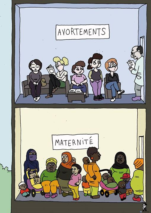 L'Artiste mal pensant - Maternité