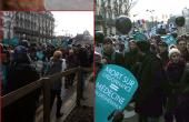 Les Caryatides à la Marche pour la Vie