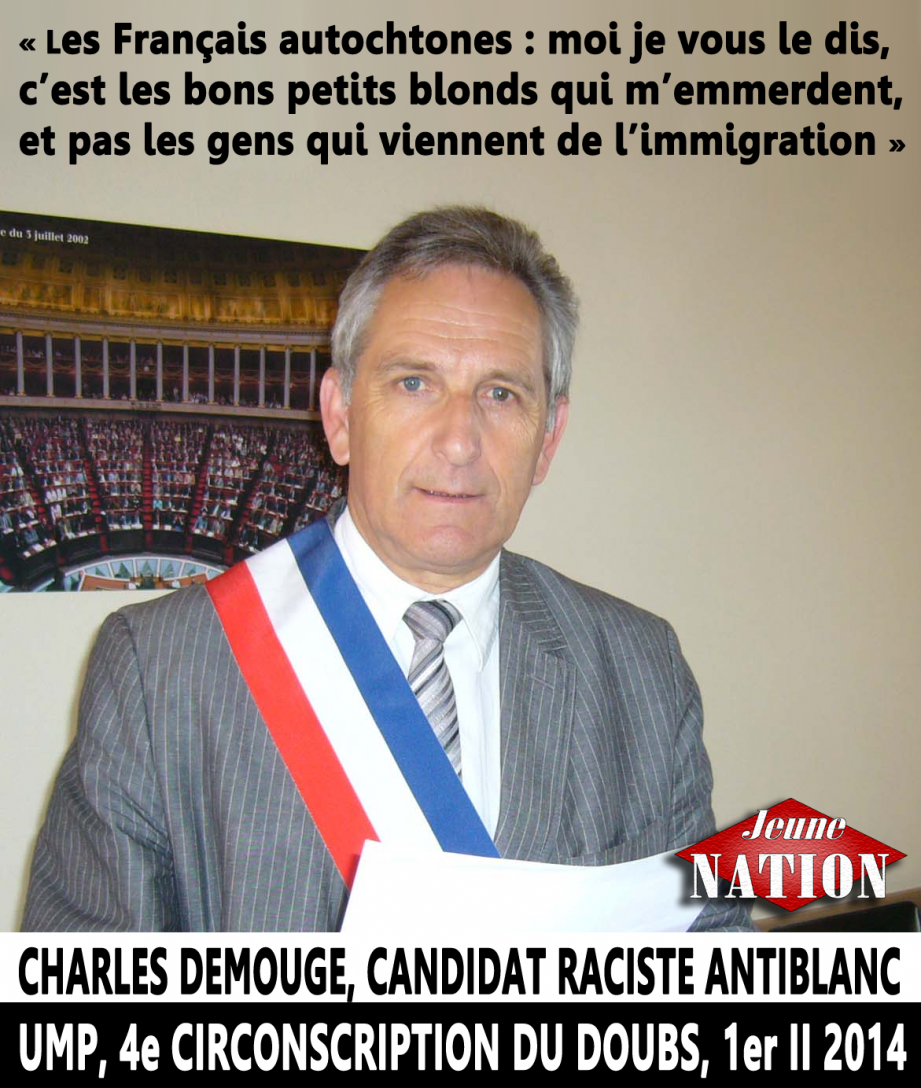 charles-Demouge-raciste antiblanc