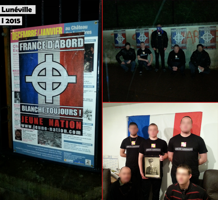 collage lorraine nationaliste-lunéville
