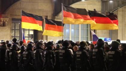 Échec de la manifestation anti-islam à Leipzig