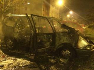 voiture brûlée le mans 31122014