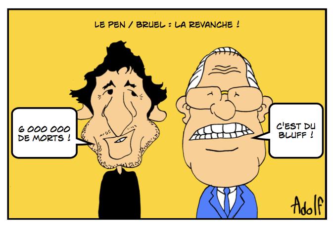 Adolf - Le Pen Bruel la revanche