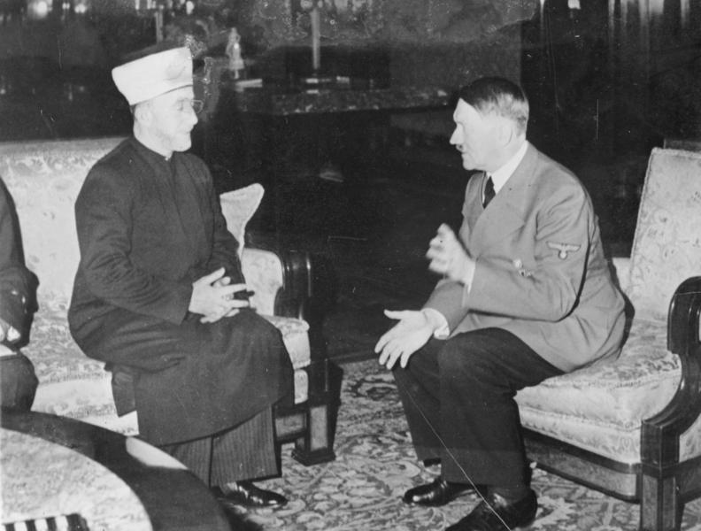Amin al Husseini et Adolf Hitler