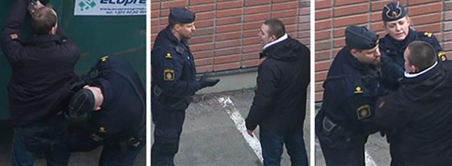 arrestation illégale citoyens suédois