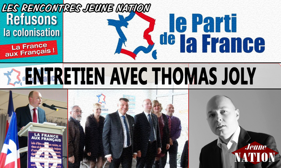 Entretien avec Thomas Joly, secrétaire général du PDF et candidat aux élections départementales à Beauvais