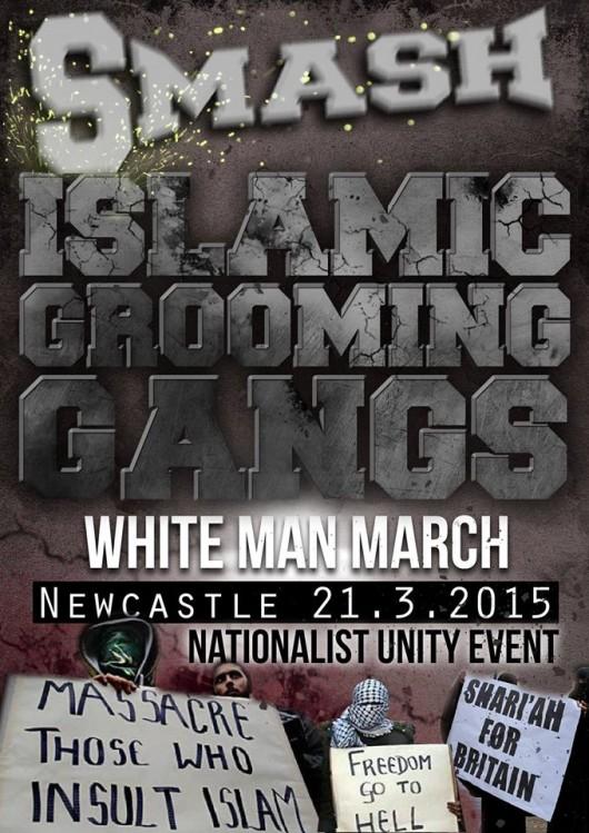 marche homme blanc white march man