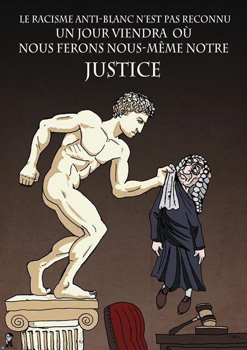 L'Artiste mal pensant - Justice raciste antiblanche