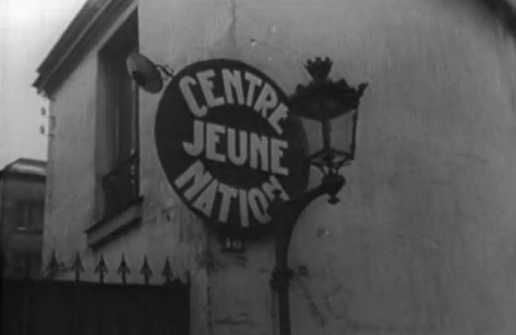 Vue d'un centre de formation professionnelle, civique et morale mis en place par le gouvernement du maréchal Pétain et baptisé Jeune nation.