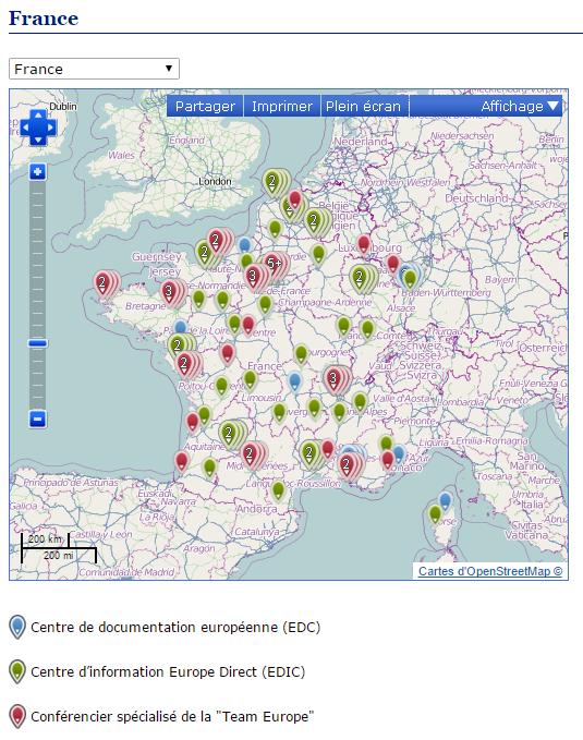 centre rééducation européiste France