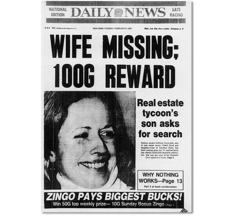 L'ignoble criminel fit semblant de lancer des recherches pour retrouver le corps de sa femme.