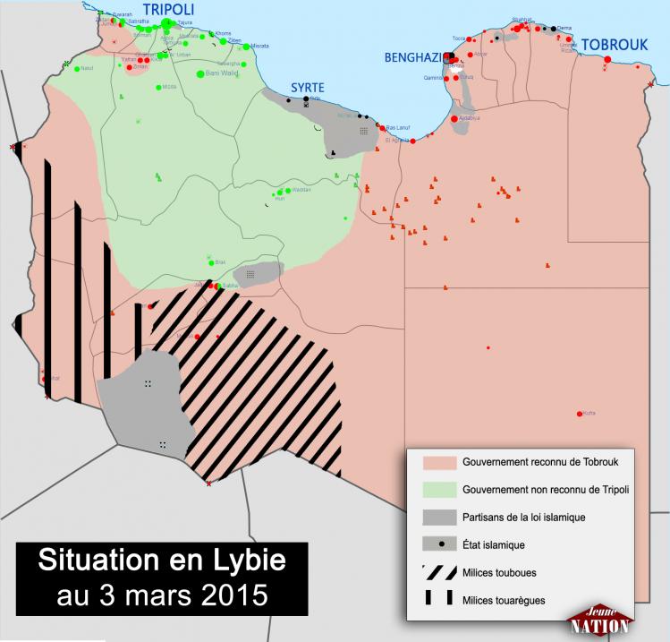 guerre civile Libye 03032015