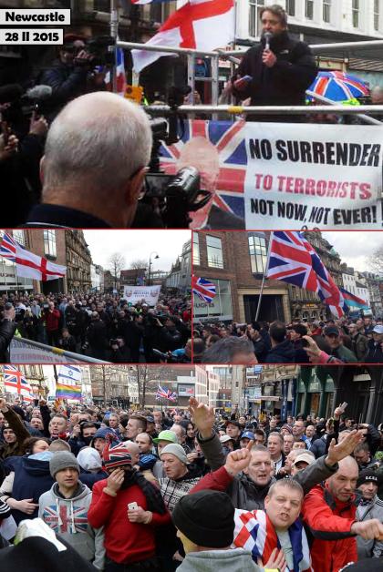 Newcastle: faible mobilisation pour PEGIDA