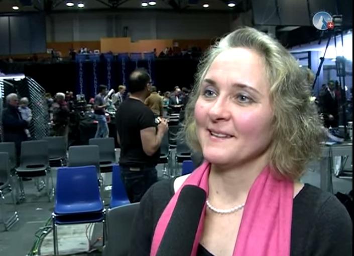 Sylvia Stolz en 2012 lors de la conférence de l'AZK.