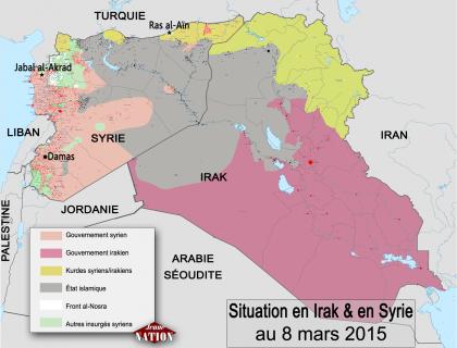 Offensive suspendue à Tikrit