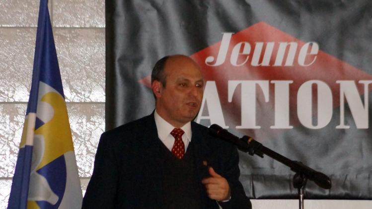 Pierre-Marie Bonneau lors du Forum de la Nation 2015