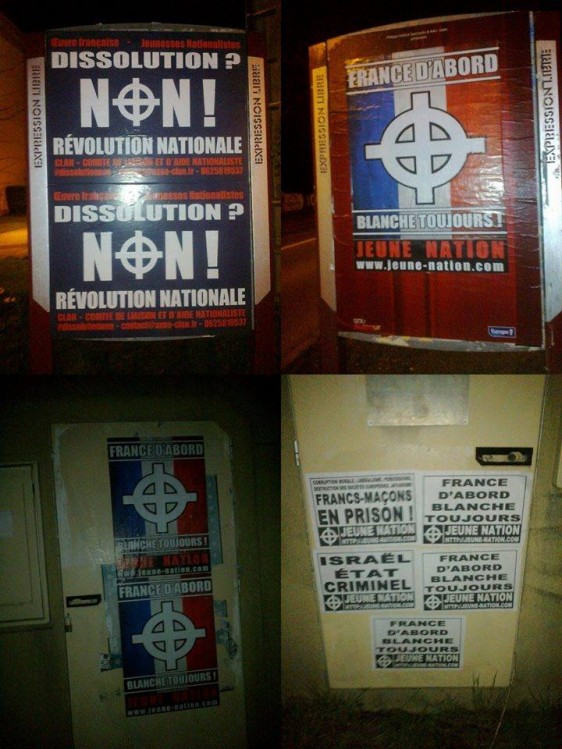 Collage Alsace nationaliste