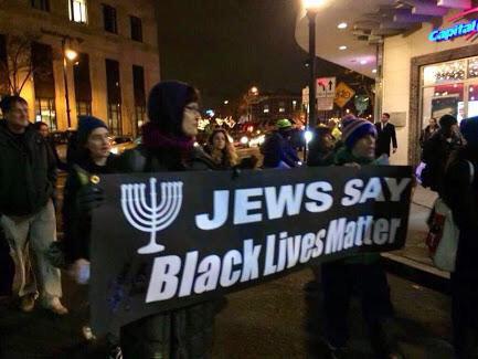 Manifestations de Juifs en faveur d'un criminel noir et des émeutiers racistes antiblancs à Baltimore.