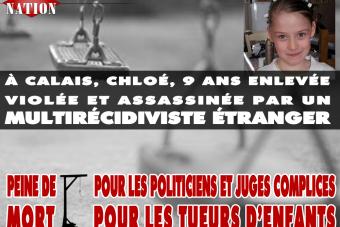 Le tueur de Chloé, 9 ans, est un étranger multirécidiviste