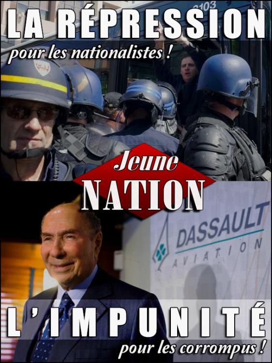 Répression - Corruption - Gabriac Dassault Bloch