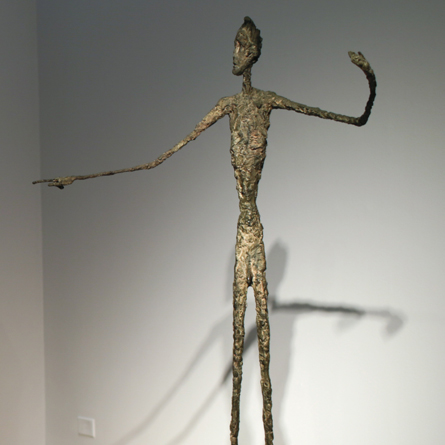 L'Homme au doigt d'Alberto Giacometti