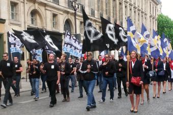 Discours de Florian Rouanet et Vincent Vauclin à l'hommage à Jeanne d'Arc