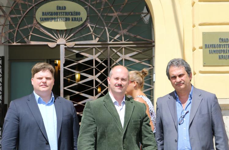 Jens Puhse, Marian Kotleba, Roberto Fiore