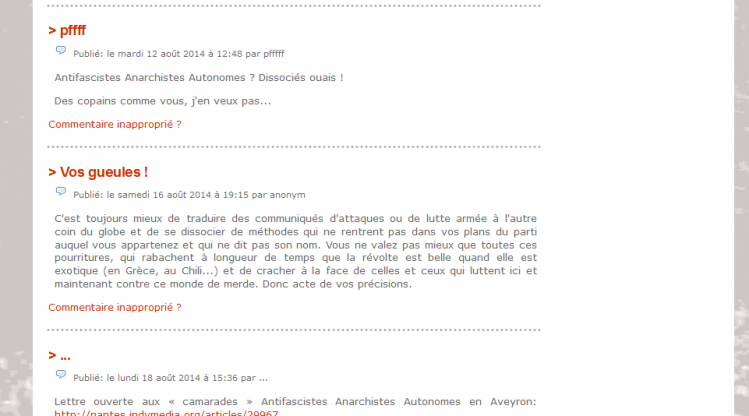 commentaires AAA
