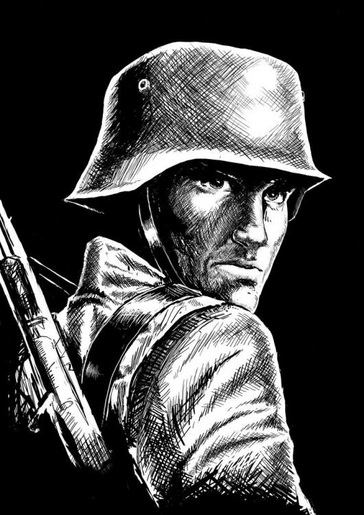 """""""Forgotten soldier"""" par Ouzpis"""