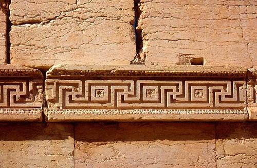 Frise grecque à Palmyre