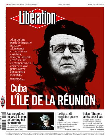 Autorisé par les États-Unis, Hollande part se promener à Cuba