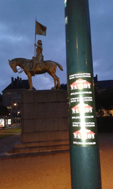 Jeune nation à Caen - merci à Bruno Hirout--