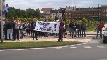 Contre l'immigration : succès de la contre-manifestation de Sauvons Calais
