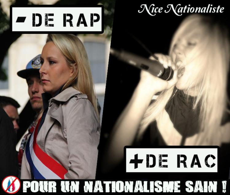 Marion Maréchal Le Pen Rap-RAC-Saga