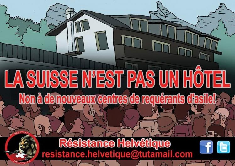 Résistance helvétique-requérants d'asile-non