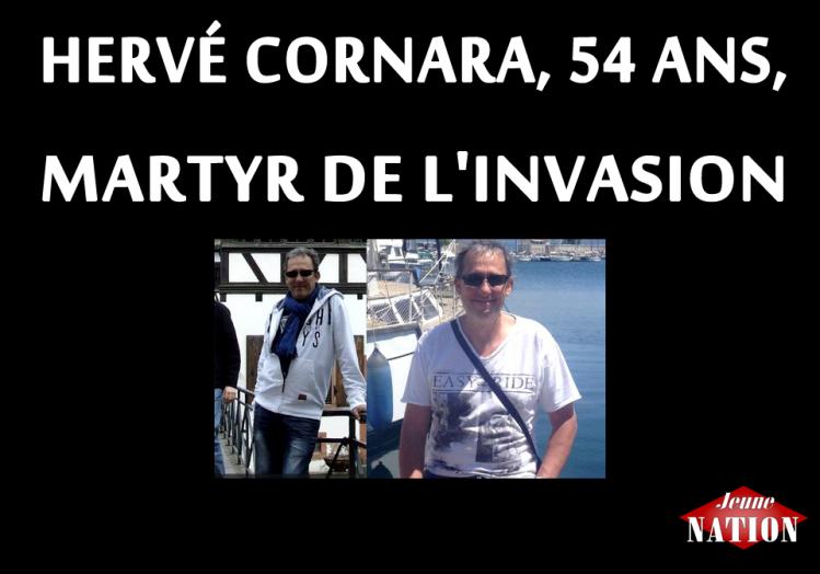 hervé Cornara martyr de l'invasion