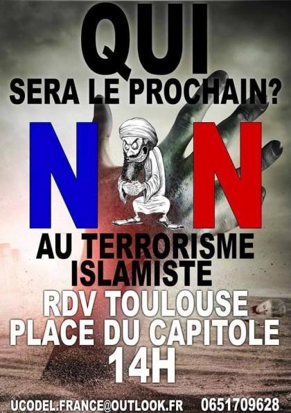 Retour sur la manifestation anti-islamiste interdite à Toulouse
