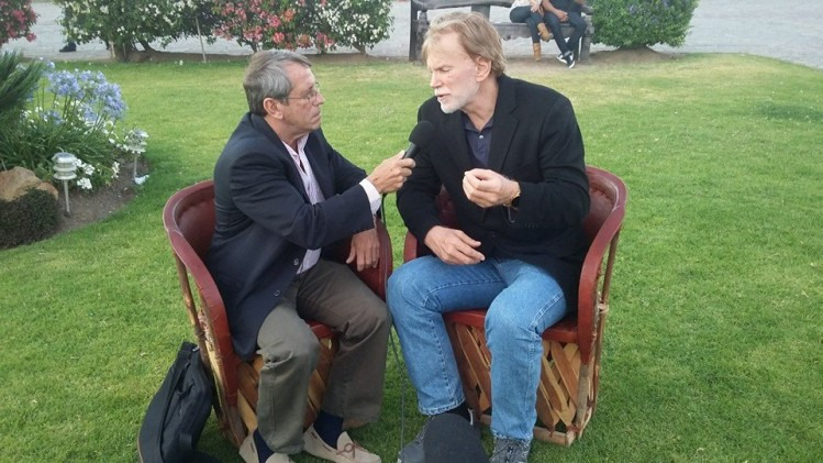 David Duke durant un entretien