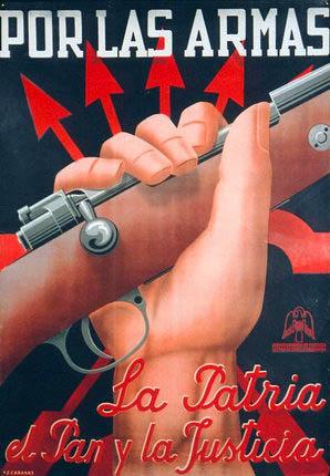 « Por la Patria, el Pan y la Justicia » (« Pour la Patrie, le Pain et la Justice »)